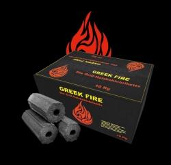 Greek Fire Premium Grill-Holzkohlebriketts
