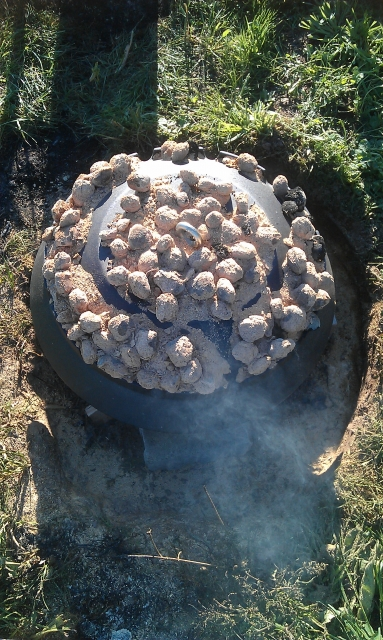 Plamen Peka Sace Guss-Kochglocke 50cm Durchmesser