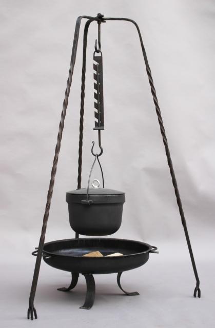 Kesselhaken auch Kochsäge genannt, 7-fach verstellbar