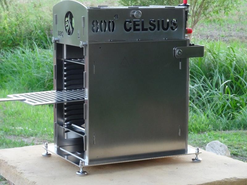 Der 800 CELSIUS BBQ-L by Feuertopf-Shop