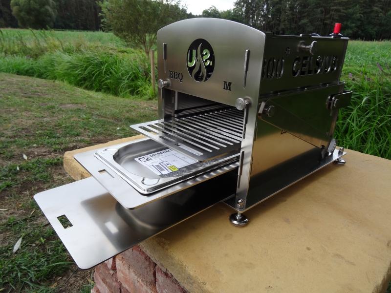 Der 800 CELSIUS BBQ-M by Feuertopf-Shop