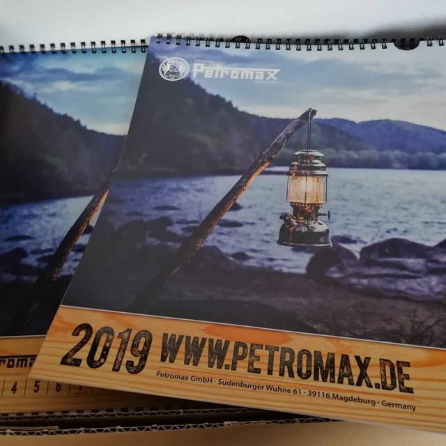 Petromax Kalender 2019