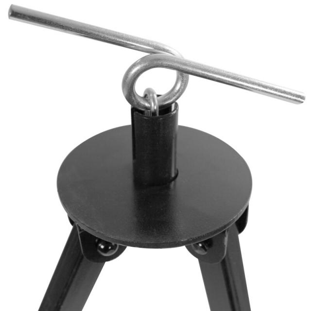 Dreibein Gestell 180 cm für Feuertopf, DutchOven und Gulaschkessel mit Kettenhöhenverstellung