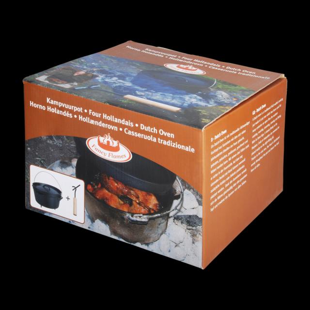 Dutch Oven 10 aus Gusseisen