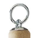 turk Kohlenschaufel, verzinkt, 1,00 mm, Holzheft mit Kappe und Ring