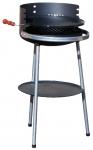 Plamen Holzkohle-Grill rund (50cm Durchmesser)