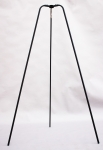 Großes Dreibein 180 cm hoch mit Edelstahl-Aufhängehaken