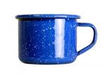Emaille Espresso Tasse - 125 ml, blau