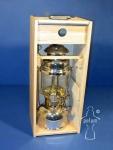 Petromax Holzbox mit Plexiglasscheibe für HK 500/350