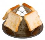 Toastaufsatz für Kocher und Grill