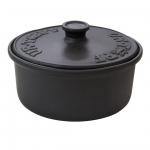 UR-TOPF® Classic, ø 28 cm, Basalt-Schwarz, Keramik-DutchOven