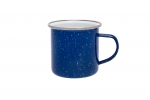 Origin Outdoors Emaille Tasse - 360 ml blau