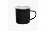 Origin Outdoors Emaille Tasse - 360 ml schwarz